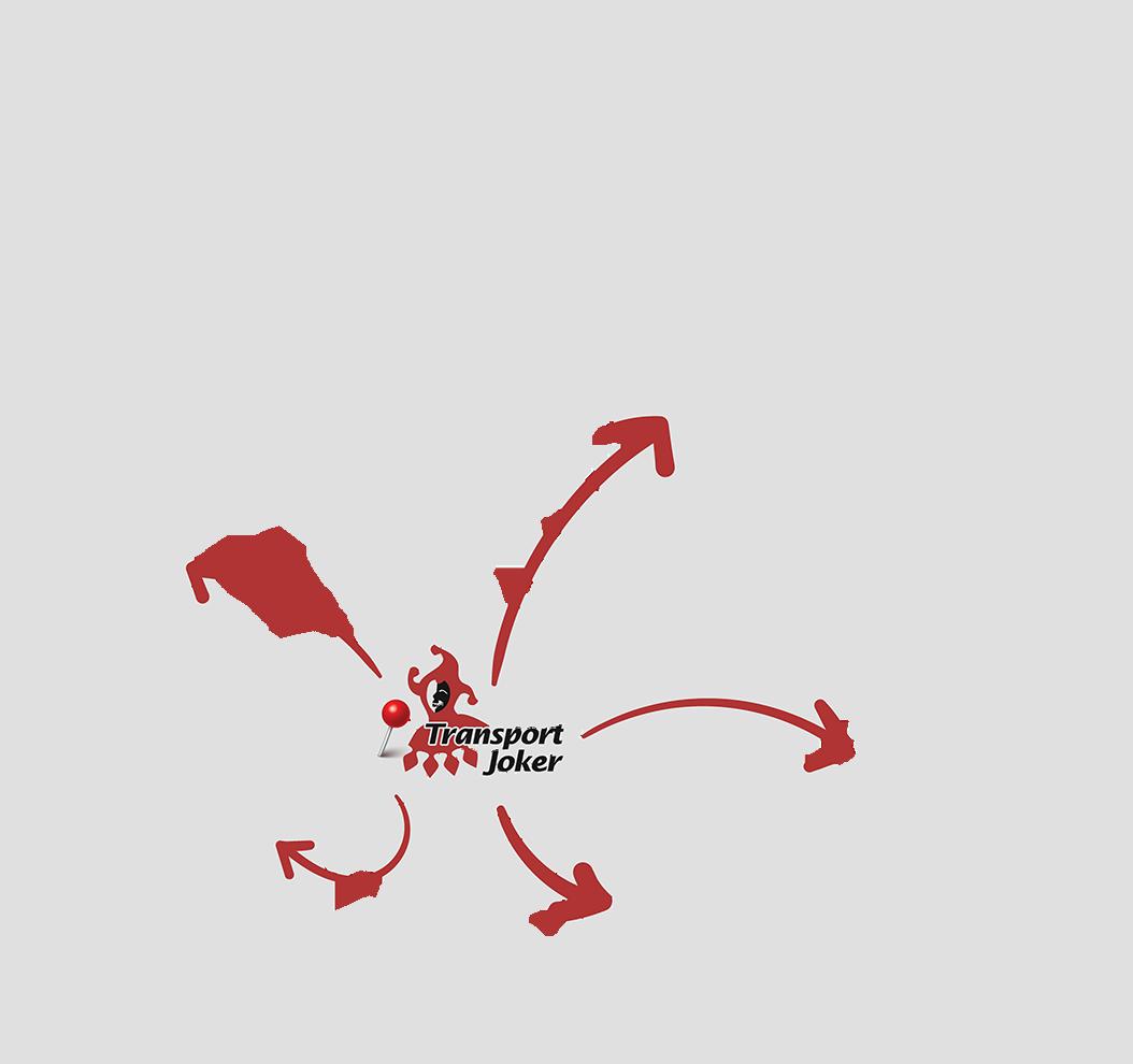 Europakarte zur Darstellung der internationelen Umzüge