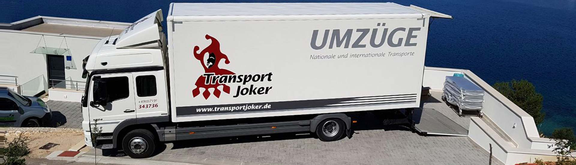 Transport Joker GmbH Slider neu